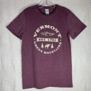 Vermont Moose and Mountain T-Shirt