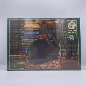 Library Cat 1000 PC Puzzle