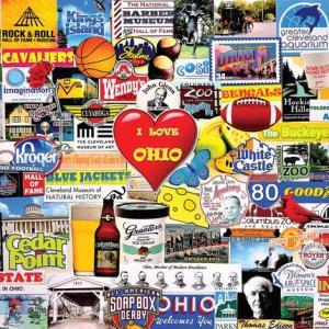 I Love Ohio Puzzle 1000 pc.