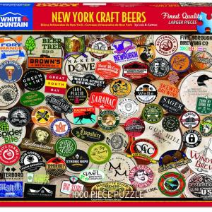 NY Craft Beers 1000 pc.