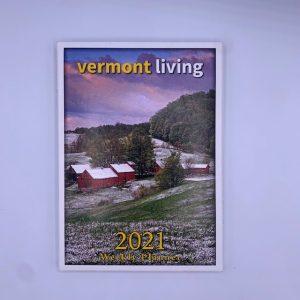 6 x 8.5 inch Vermont Engagement Calendar