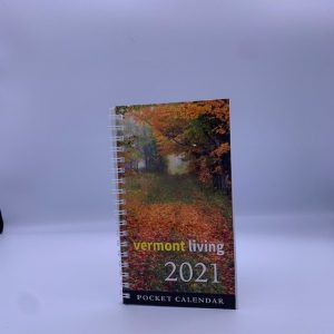 3.5 x 6.5 inch Vermont Pocket Calendar
