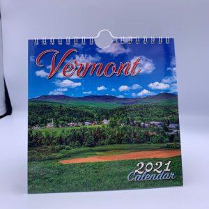 6.5 x 6.5 inch Vermont Wall Calendar