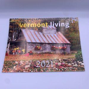 10.5 x 8 inch Vermont Wall Calendar