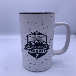 Vermont Longitude and Latitude Mug