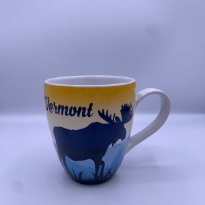 Vermont Sunset Moose Mug
