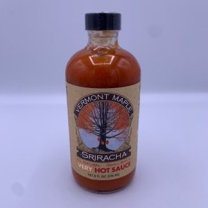 8 oz Vermont Maple Sriracha VERY Hot Sauce