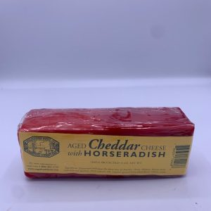Sugarbush Farm Aged Cheddar with Horseradish Cheese