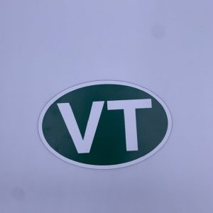 Large VT Car Magnet