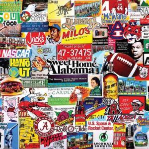 I Love Alabama 1000 pc.
