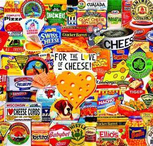 I Love Cheese 1000 pc.