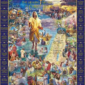 Healing of Jesus 1000 pc.