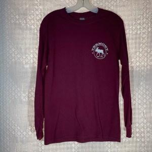 Vermont Green Mountain Moose Long Sleeve Shirt