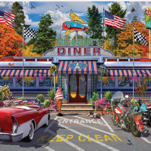 Bill and Sally's Diner Puzzle 1000 pc