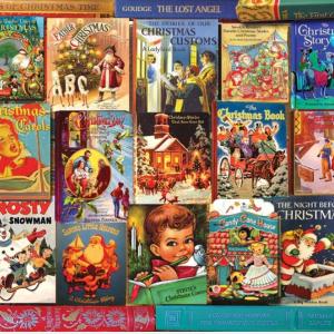 Christmas Books Puzzle 1000 pc.