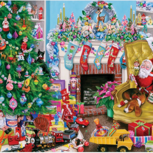 Christmas Toys Puzzle 1000 pc.