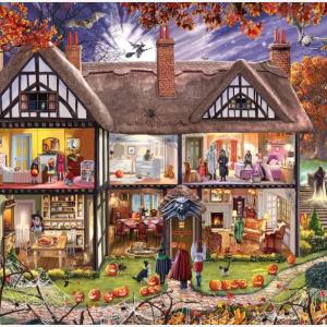 Halloween House Puzzle 1000 pc.