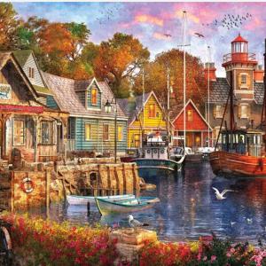 Harbor Fun Puzzle 1000 pc.
