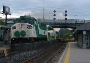 GO locomotive