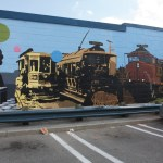 Full photo of the Urban Arts Mural completed in Summer 2010