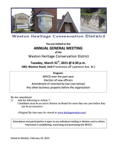WHCD AGM notice 2015-REV1 copy