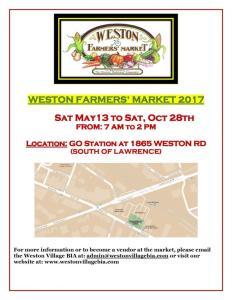Weston Farmers Market