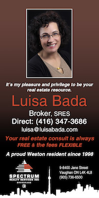 Our sponsor: Luisa Bada