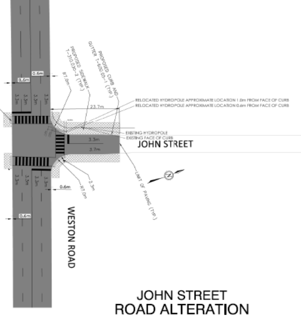 Map of John and Weston