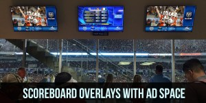 Scoreboard Overlays With Ad Space
