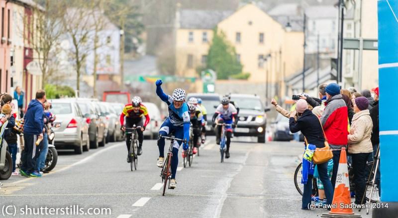2015 winner Paul Dunne celebrating his victory
