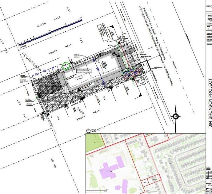 394 bronson site plan