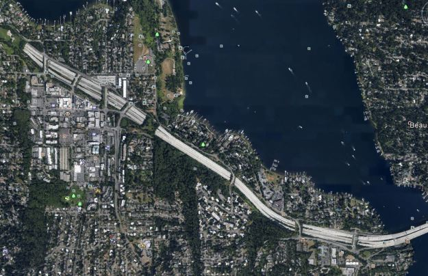 i90 seattle 9 overpasses