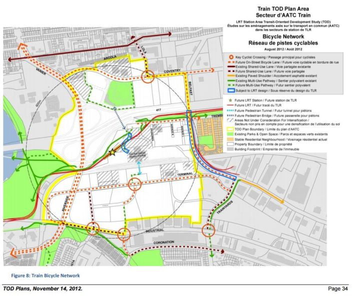 train area cycle plans