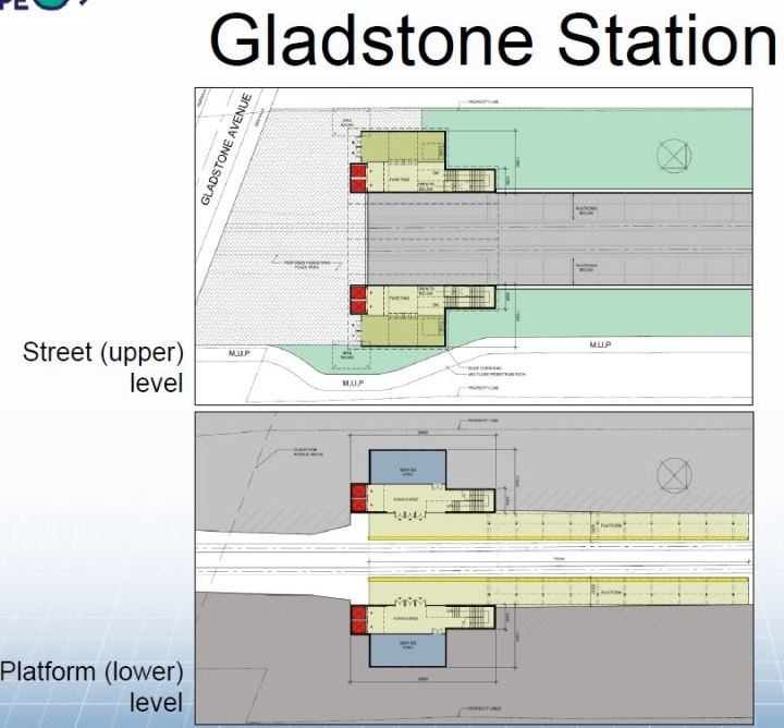 gladstone station in two phases