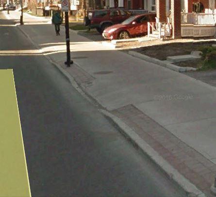 sidewalk dip