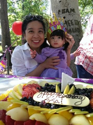 Aria's first Birthday
