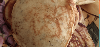 Ricotta Pancakes – good for breakfast and a great snack