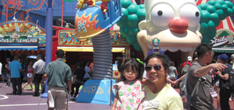 L.A. Tourist, day 1: Universal Studios with the Baby