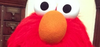 Adventures on the Metro and Elmo at Central Library