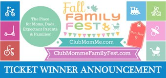 Winner announced: Club MomMe Fall Family Fest Gold ticket