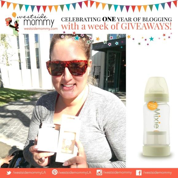 Alyssia, winner of Mixie bottle set