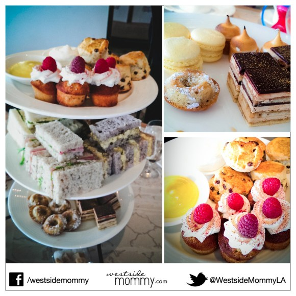 Yummy treats for Afternoon Tea at The London Hotel