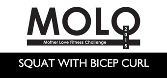 MOLO Week 10: Squat with Bicep Curl