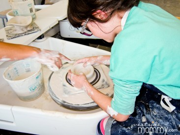 Shelby creating at Good Dirt LA(photo by Jonna Jetson Coleman)
