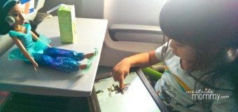 How My Toddler Stayed Entertained on our Cross-Country Flight