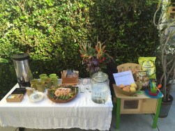 Image from parent event we did out on the patio