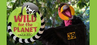 """Los Angeles Zoo's """"Wild for the Planet"""" celebrates the Zoo's 50th Anniversary and kicks off Earth Day April 22"""