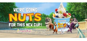 Menchie's Frozen Yogurt teams up with new movie The Nut Job 2 + Giveaway