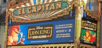 THE LION KING SING-ALONG at The El Capitan Theatre