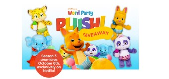 Word Party's Season 3 Premiere and GIVEAWAY